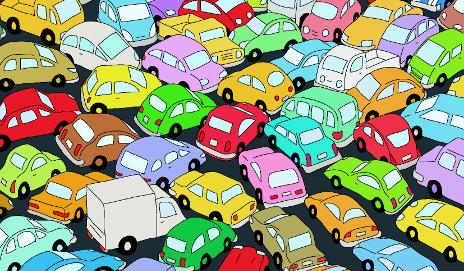 trafficjamshutterstock_74043355